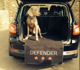 Ochranný potah Pet Rebellion do kufru