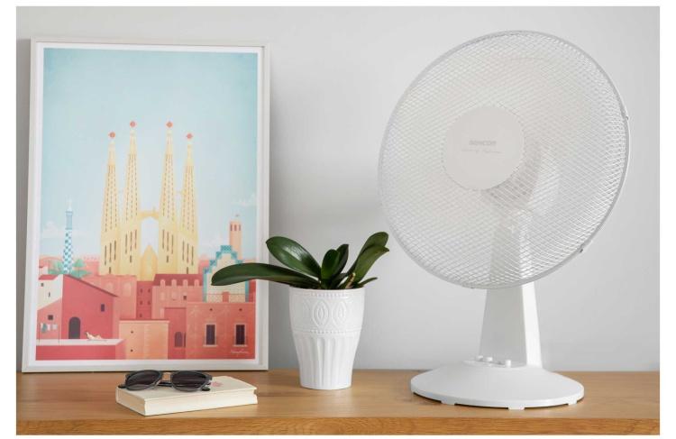 Ventilátor Sencor SFE 2310WH stolní