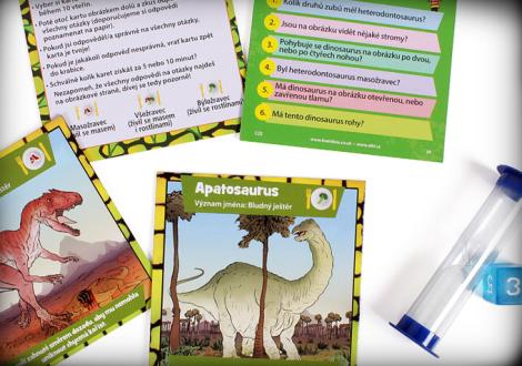 Hra Albi V kostce! Dinosauři 2. vydání