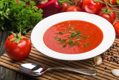 Tomatová polévka je s mixéry G21 Perfect Smoothie opravdu snadná