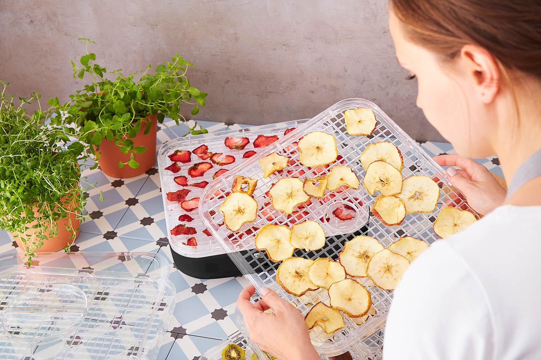 Sušenie ovocia je hračka s G21 Paradiso Cube