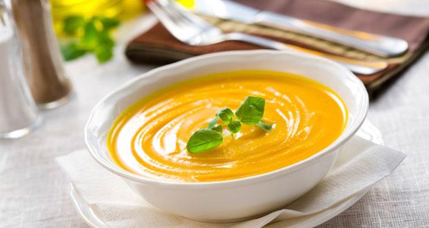 Snadná příprava polévky s G21 Perfect smoothie Vitality