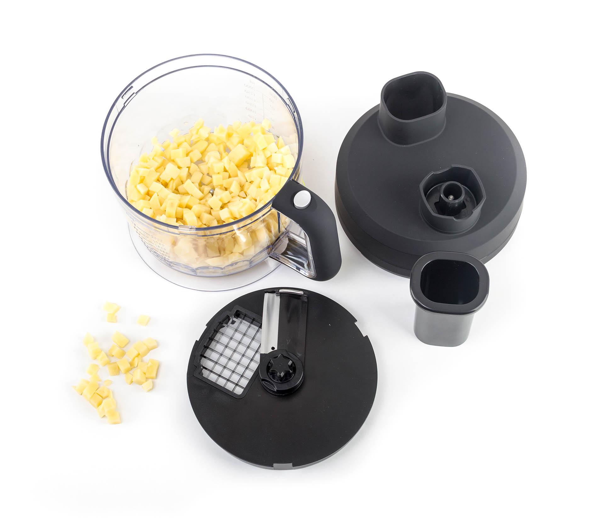 Food processor G21 s multifunkční nádobou o objemu 2 l je výborným doplňkem pro váš tyčový mixér G21 VitalStick Pro