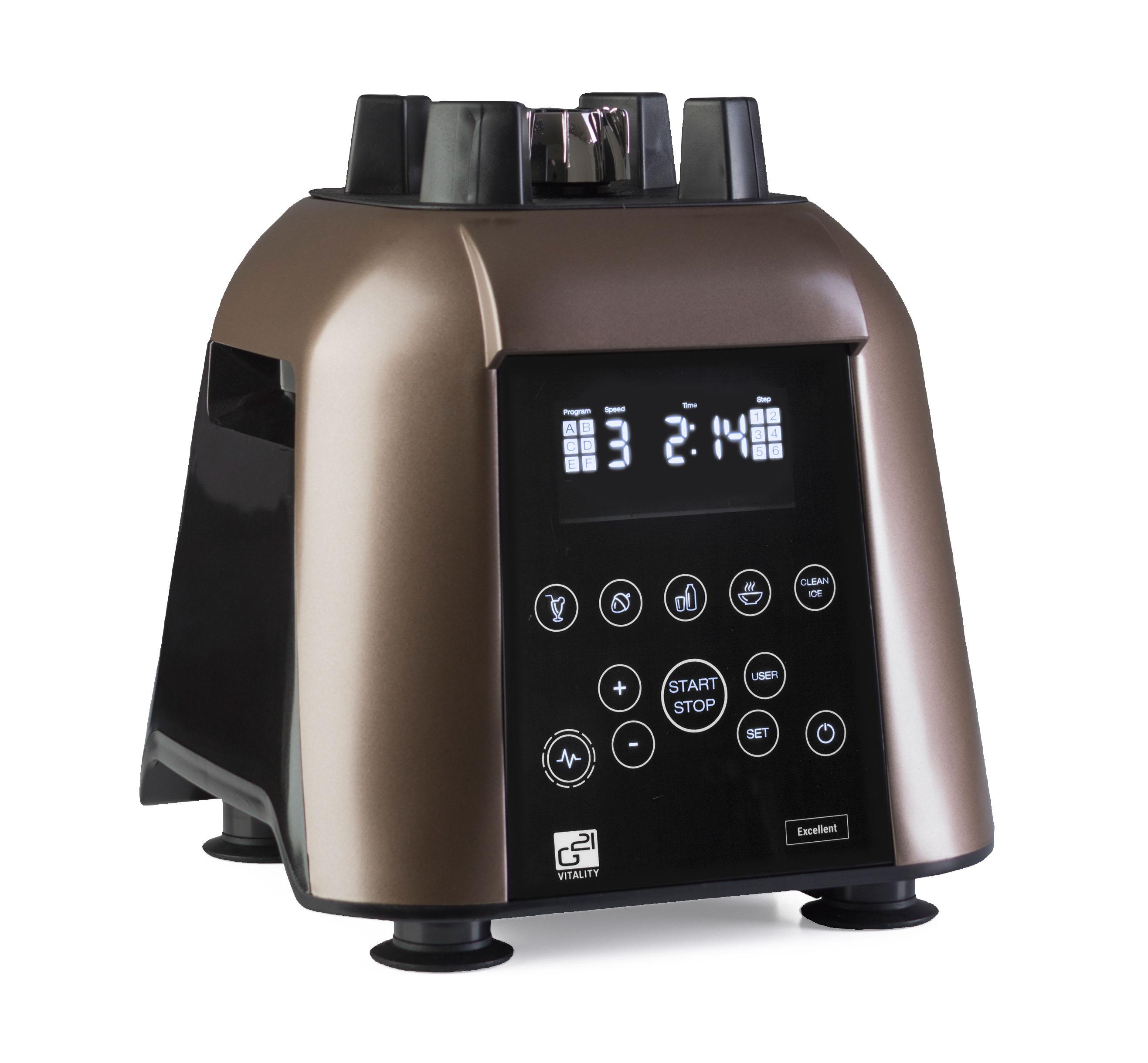 Telo mixéra G21 Excellent s dotykovým ovládaním a displejom