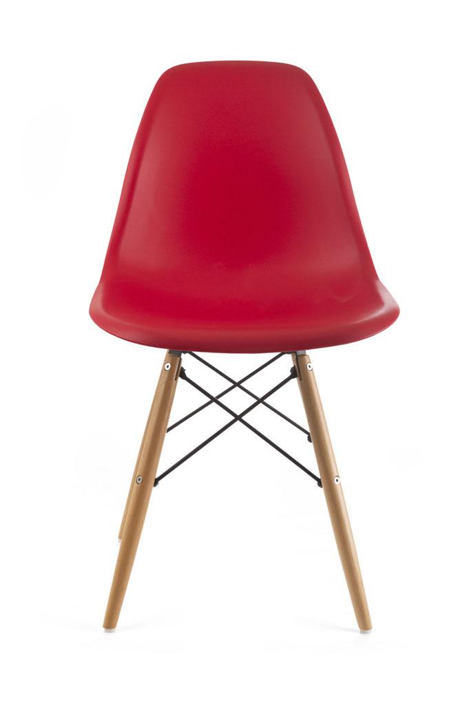 Designová židle G21 Timber Red