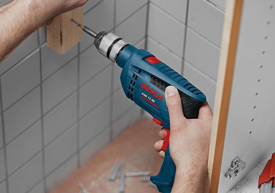 Příklepová vrtačka Bosch GSB 13 RE Professional, 0601217100