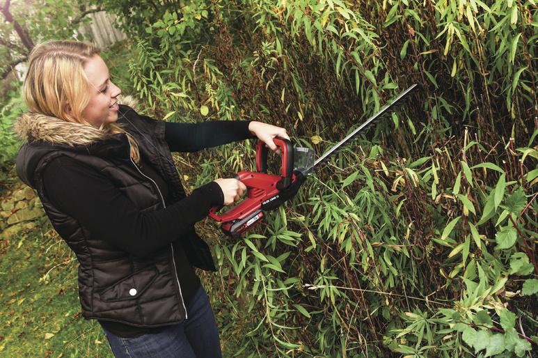 Nůžky na živý plot Einhell GE-CH 1846 Li Kit Expert Plus 1,5Ah