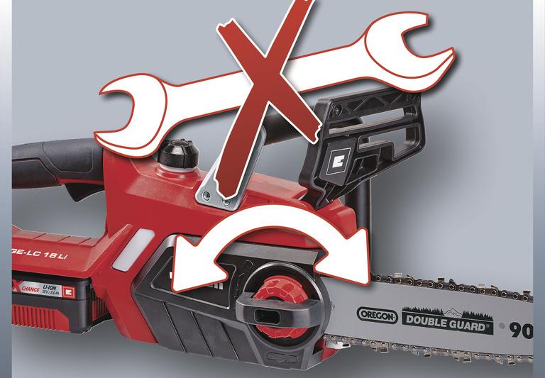 Motorová pila Einhell GE-LC 18 Li Kit Expert Plus