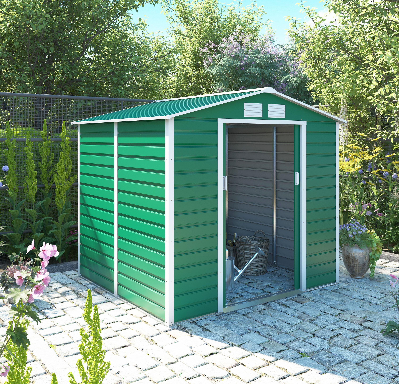 zahradní domek g21 gah 407, zelený