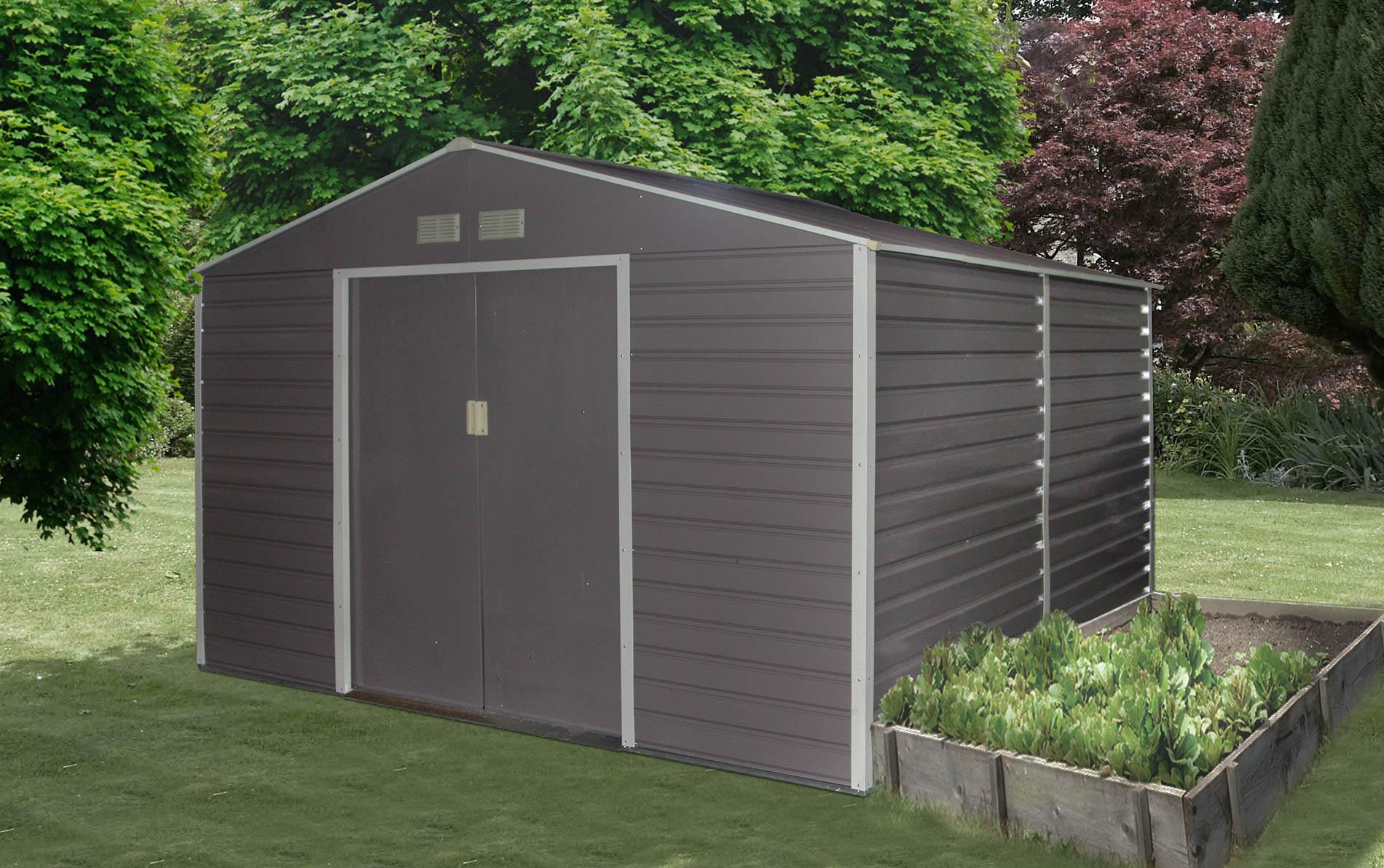 záhradný domček g21 gah 529, šedý