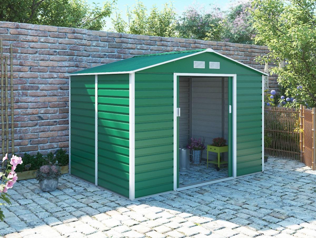 zahradní domek g21 gah 529, zelený