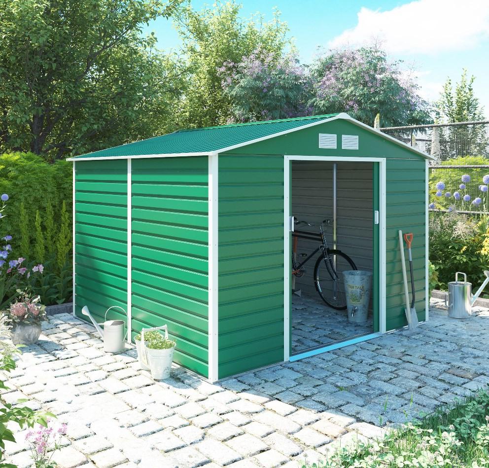 zahradní domek g21 gah 706, zelený