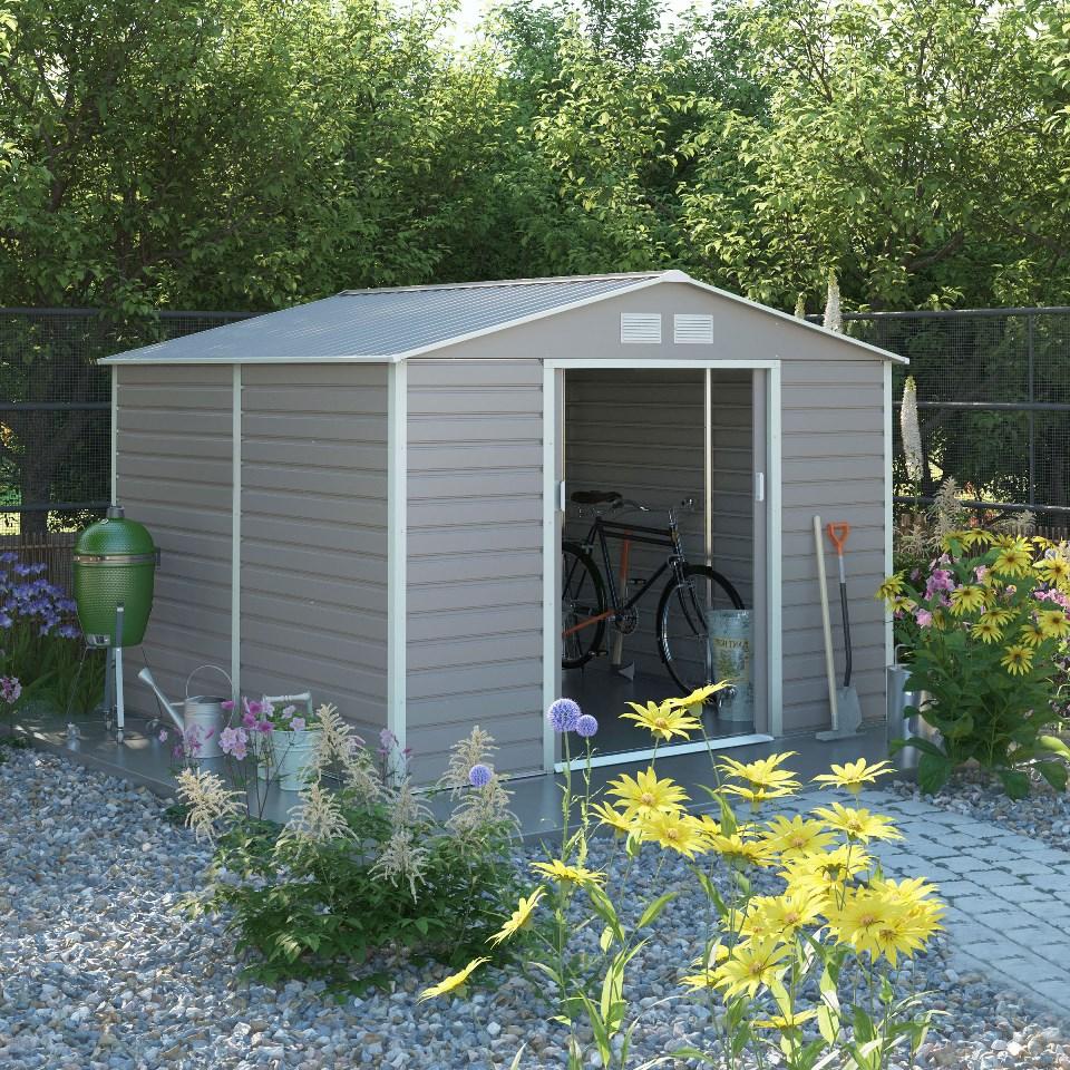 záhradný domček g21 gah 884, šedý