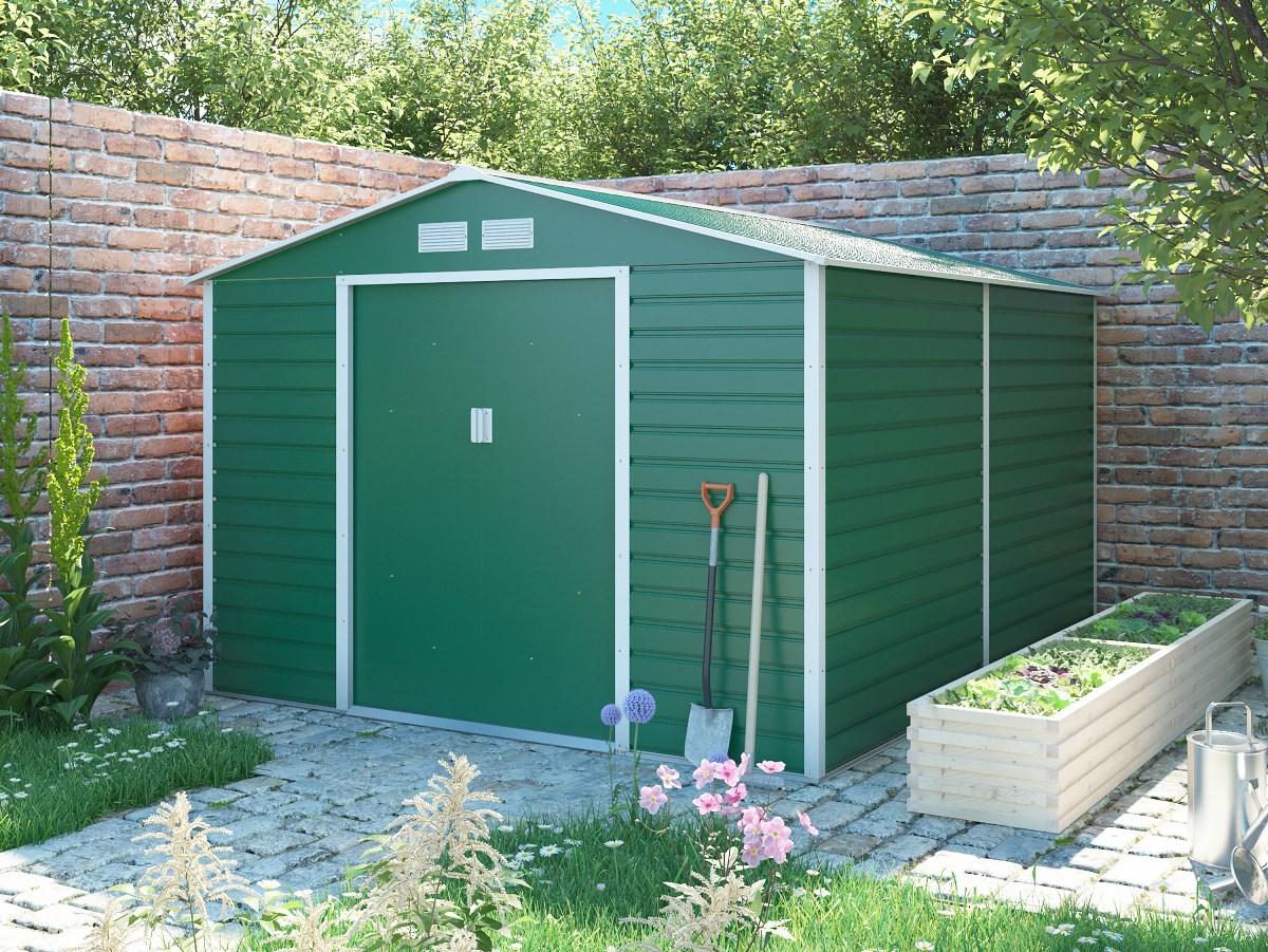 zahradní domek g21 gah 884, zelený
