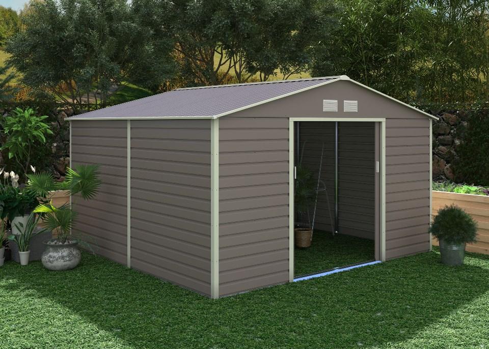 zahradní domek g21 gah 1085, šedý