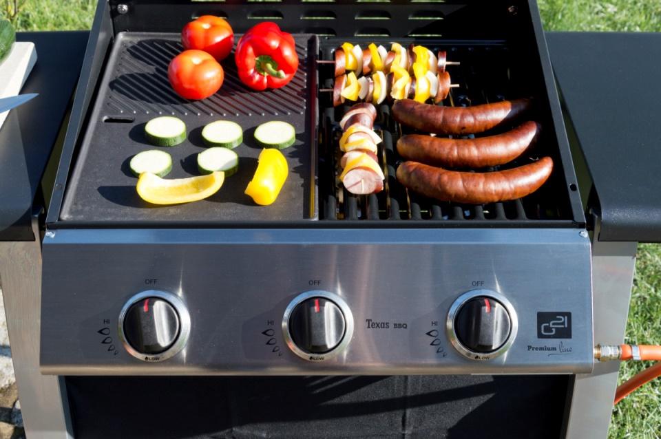 Potraviny na grilu G21