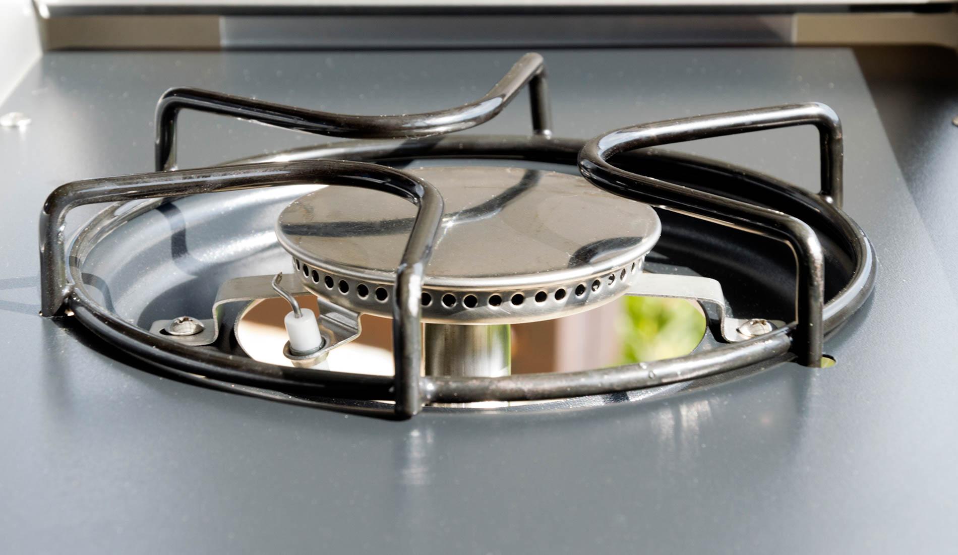 Plynová plotýnka na vaření a smažení