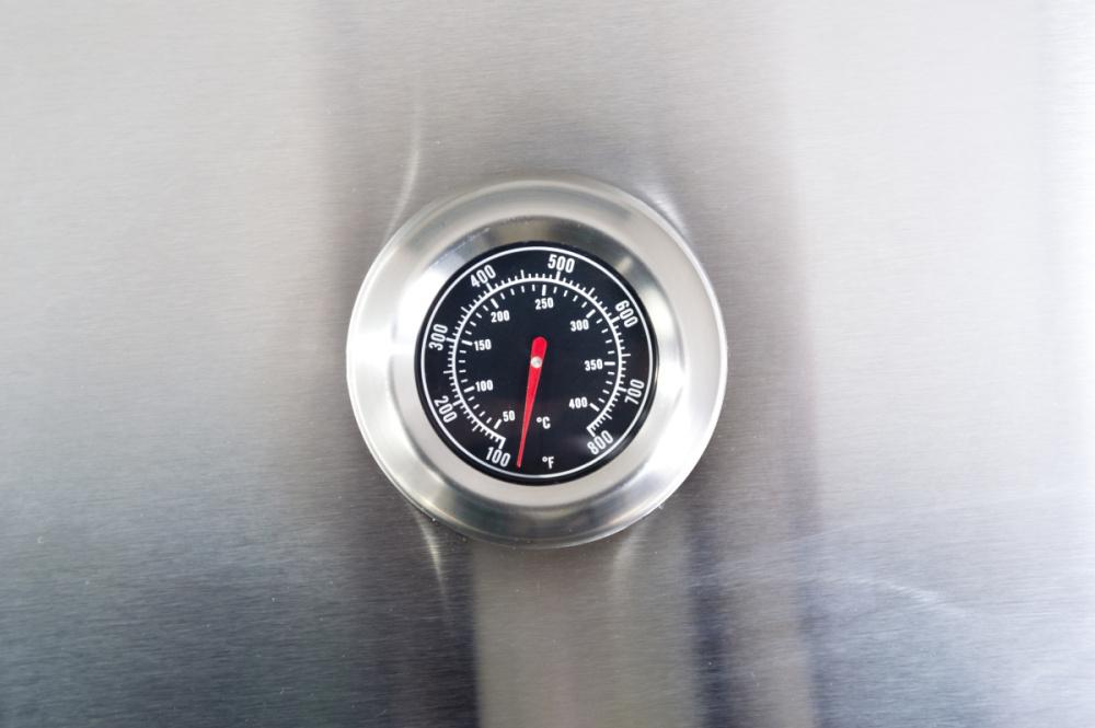Praktický teploměr plynového grilu G21 Mexico BBQ Premium Line