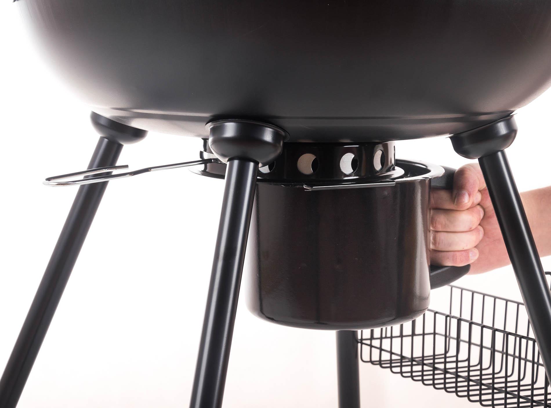 Gril G21 BBQ Ring má velkou nádobu na zachycení popela