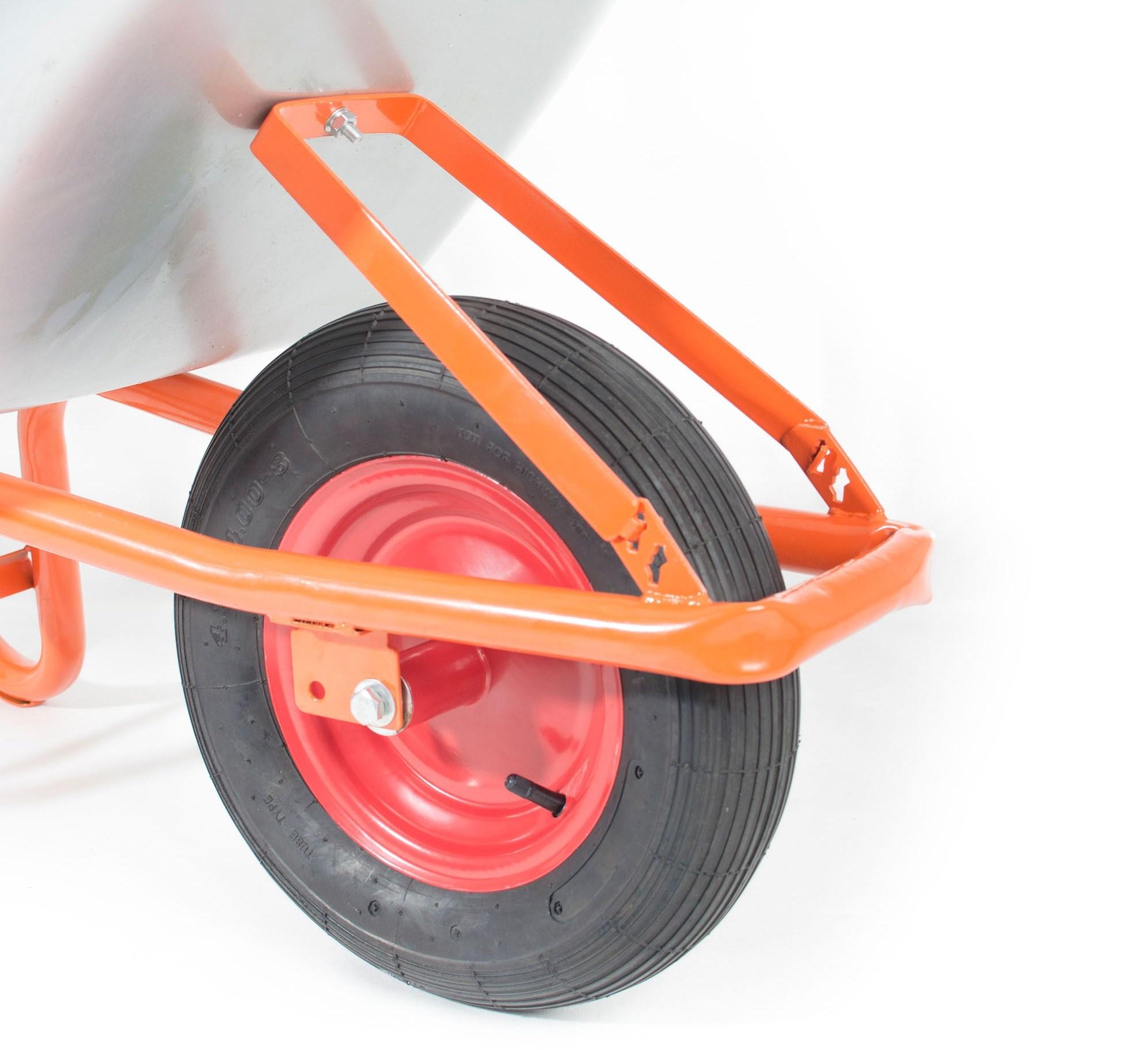nafukovací kolo s gumovou pneumatikou, které vám významně ulehčí práci s převážením nákladu