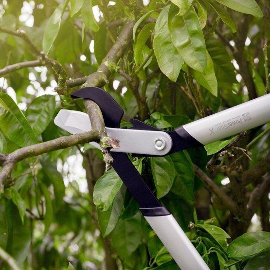 nožnice Fiskars PowerGear X LX98 stríhajúce vetvu stromu