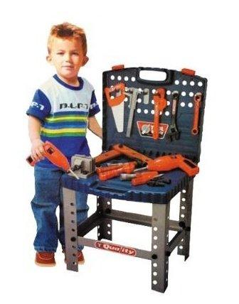 Malý kutil a detské náradie G21 kufrík a pracovný stôl