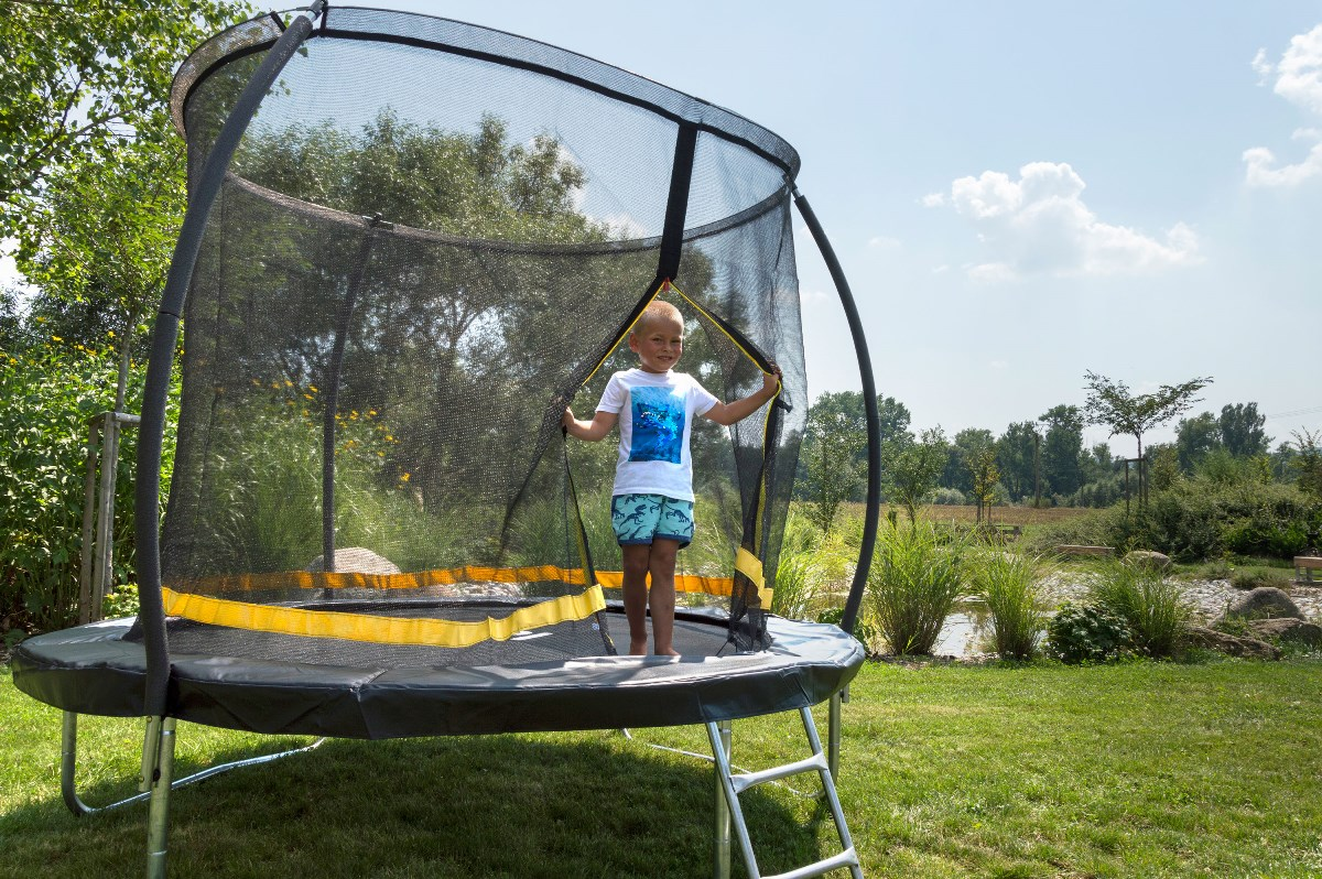 Dítě na trampolíně G21 EasyJump