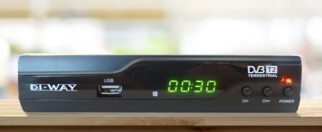 DVB-T přijímač DI-WAY T2-ONE plus HEVC H.265 DVB-T/T2, CRA T2 Ověřeno