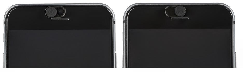 Krytka fotoaparátu KÖNIG SAS-CCM3 na telefonu, černá 3 ks