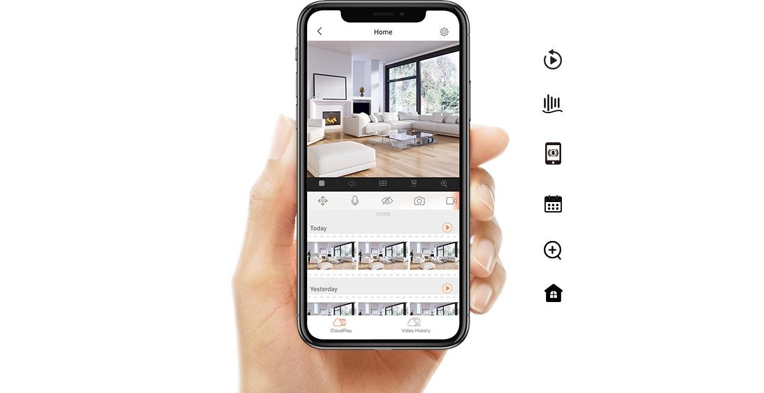 Kamera Ezviz C4W a mobilní aplikace