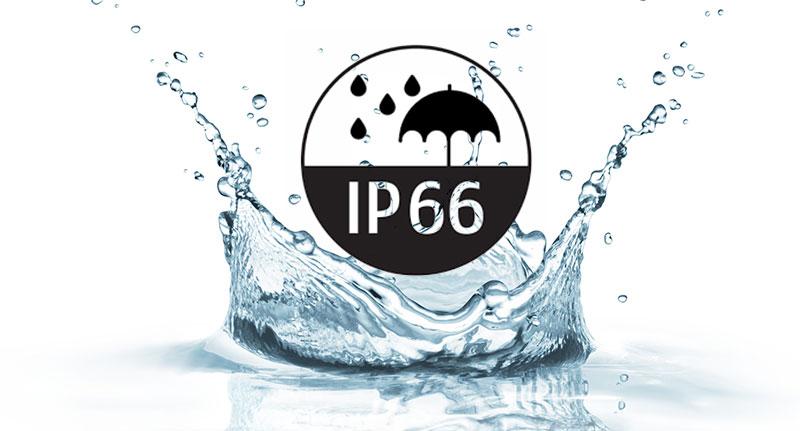 Krytí IP 66.