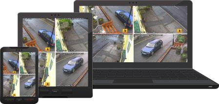 Online sledování.