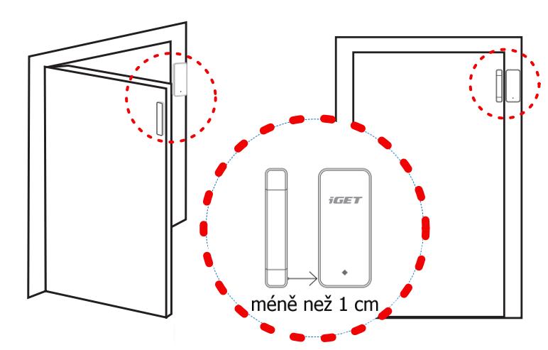 Detektor iGET SECURITY M3P4 bezdrátový detektor pro dveře/okna pro alarmy M3 a M4