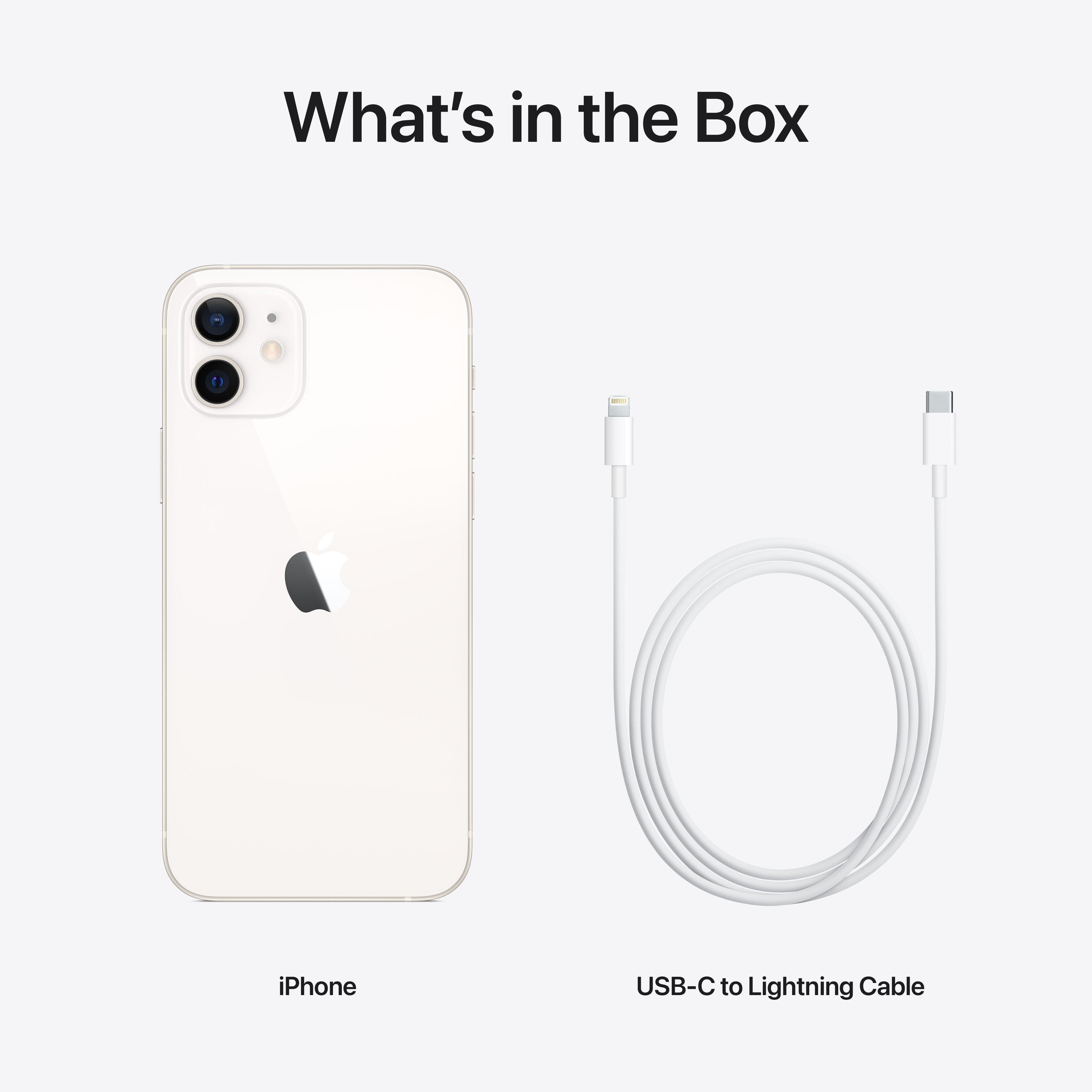 Obsah balení iPhonu 12