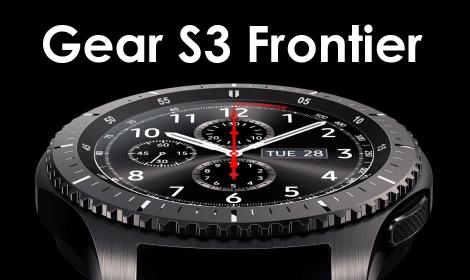 Hodinky Samsung Gear S3 frontier Dark Grey